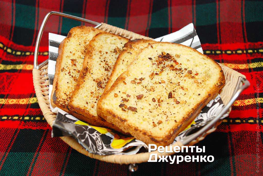 смажений хліб фото рецепту