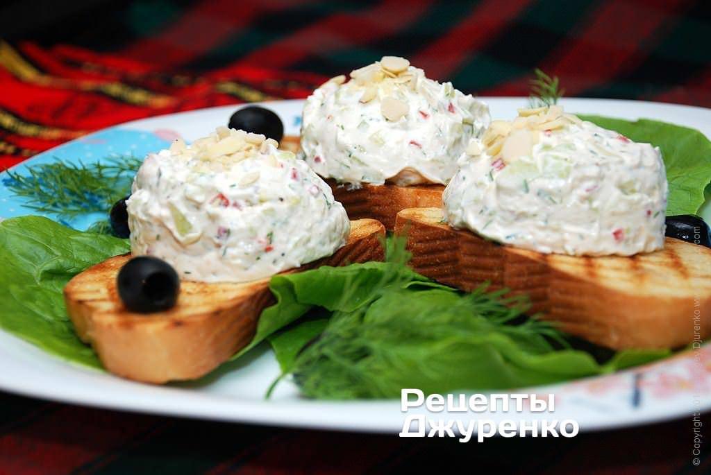 млечный салат фото рецепта