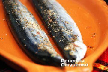 рыба со специями
