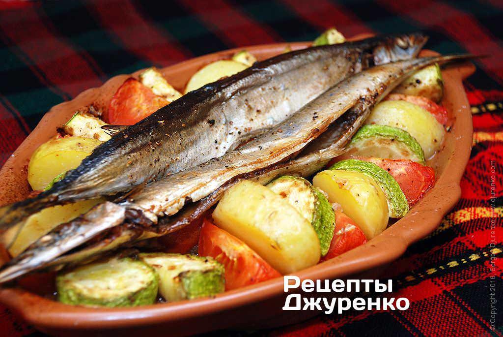 риба запечена у духовці фото рецепту