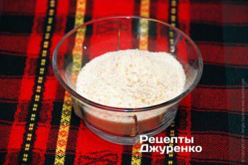 панірувальні сухарі