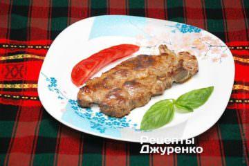 Фото рецепта свинина на гриле