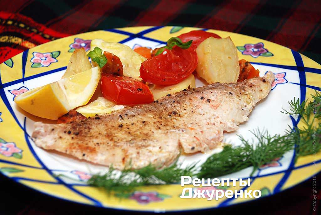филе рыбы в духовке фото рецепта