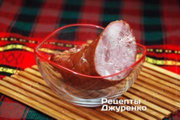 Домашня копчена ковбаса