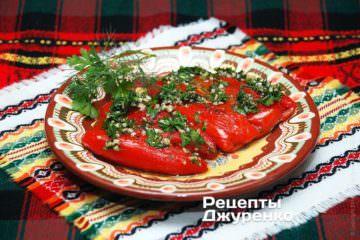 Перец фаршированный сыром