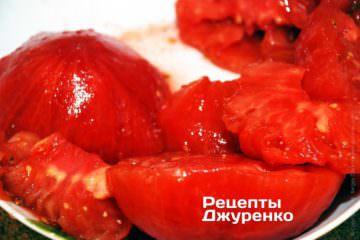 М'якоть помідорів
