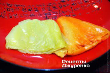 Испечь болгарский перец