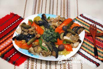 Фото до рецепту: грибний салат