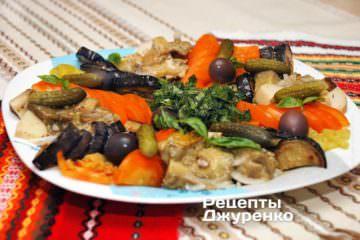 салат з білих грибів
