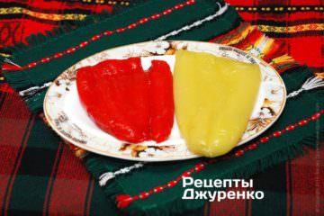 Болгарские перцы испечь