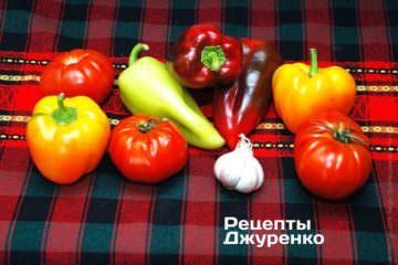 Овочі для соуса