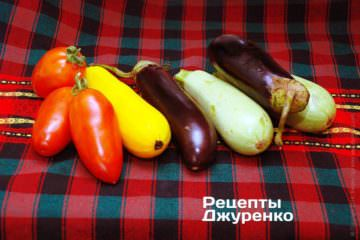 овочевий набір для рататуя