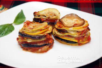 Фото рецепта рататуй в духовке