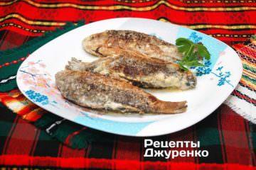 Фото до рецепту: карасі в сметані