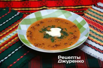 Фото рецепта сочевичний суп