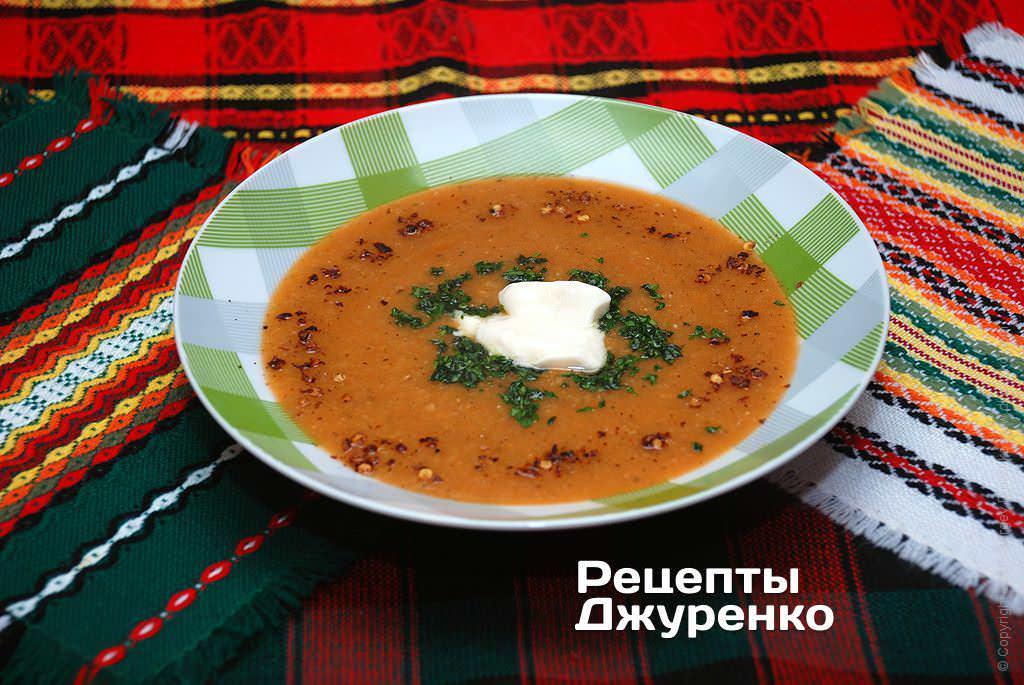 чечевичный суп фото рецепта
