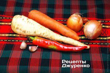 Приготовить овощи для фаршировки