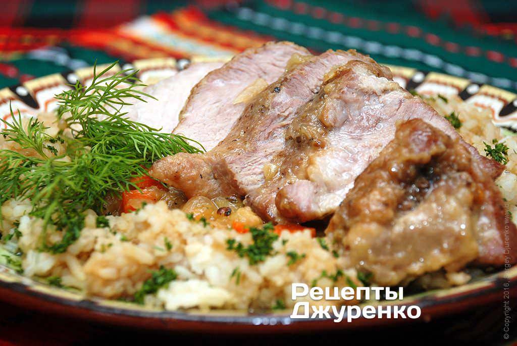 тушкована свинина фото рецепту