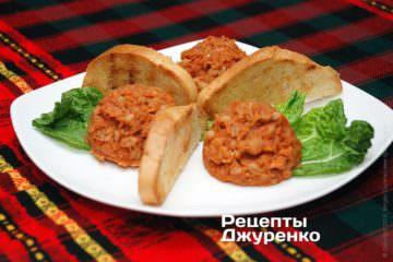 Фото рецепта закуска изрыбы