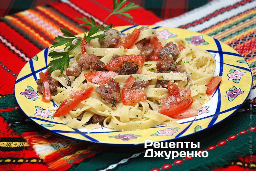 паста с мясом фото рецепта