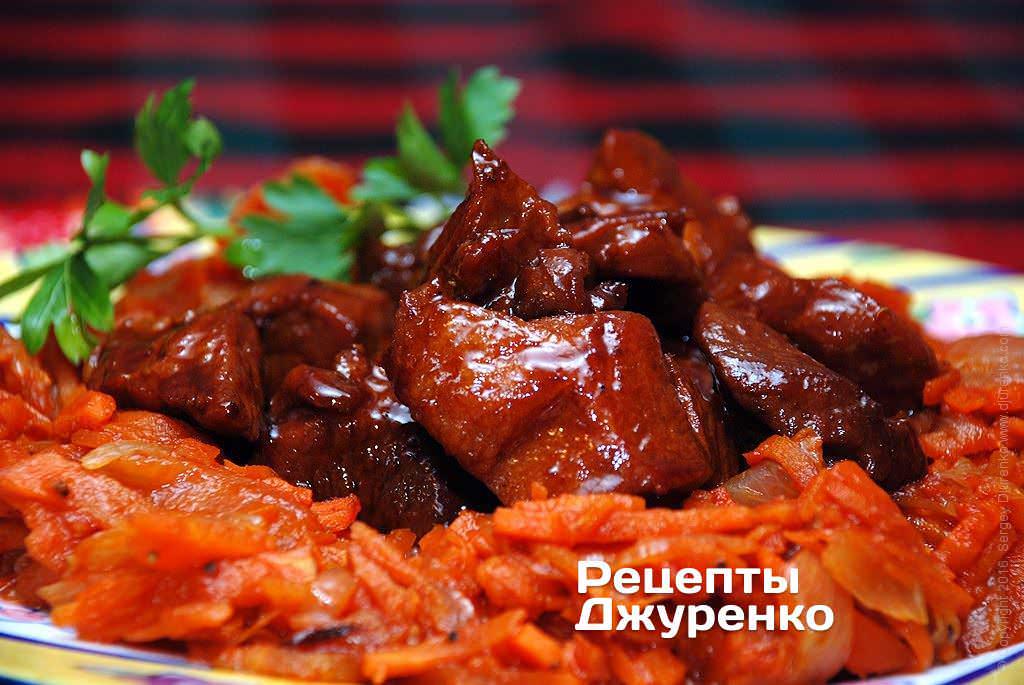 Свинина рецепты на сковороде с соевым соусом