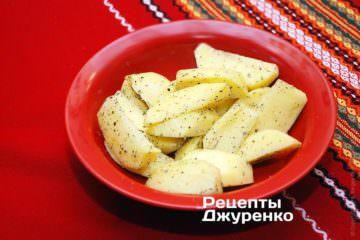 Очистить и подготовить картофель