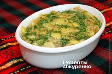 Фото к рецепту: запеканка изкартофеля