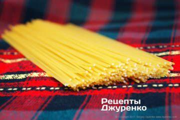 відварити спагетті