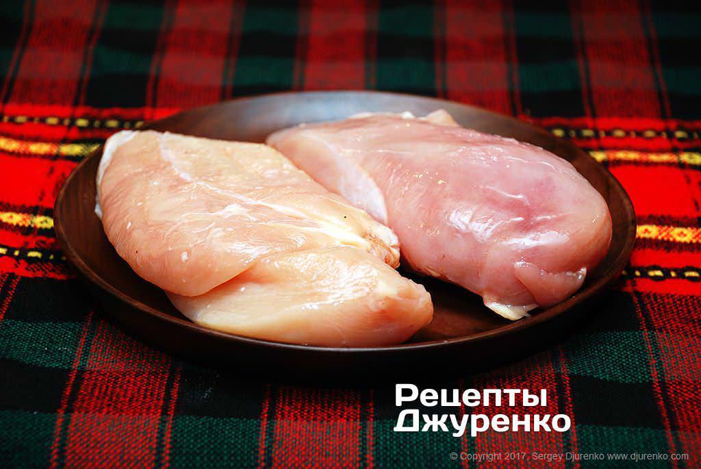 Как приготовить Куриное филе в кляре. Шаг 1: Куриное филе