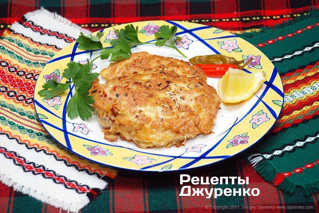 Фото готового рецепта куриное филе в кляре в домашних условиях
