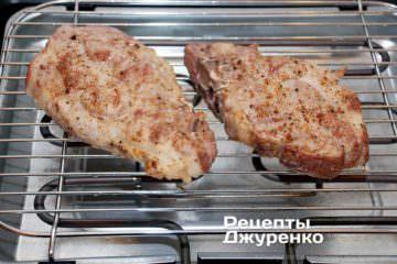 смажити м'ясо