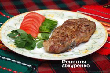 мясо с гарниром