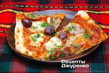 піца домашня листкова