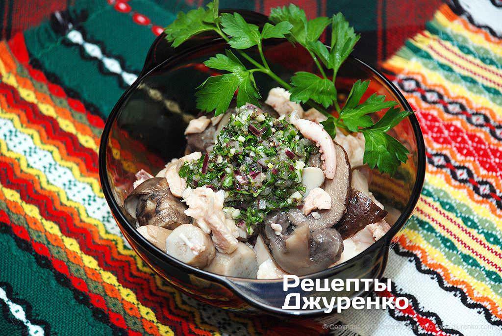 салат с морепродуктами фото рецепта
