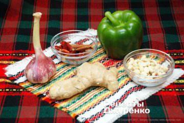 овощи для рыбы в соусе