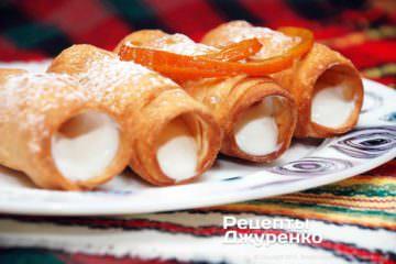 сицилійський десерт з рікотою
