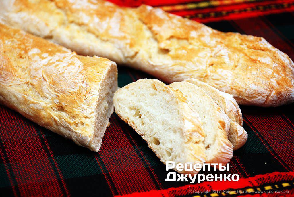 білий хліб фото рецепту