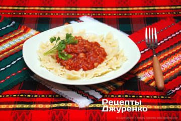 томатный соус с рыбой