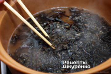 сварить водоросли