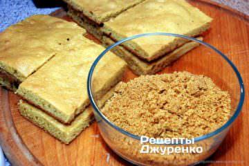заготовки бисквита