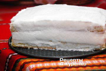 обмастити торт кремом