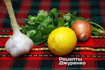 зелень и овощи