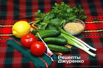 різні овочі