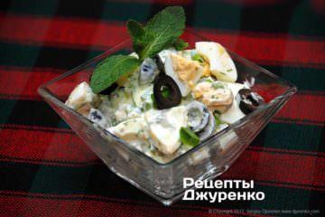 Фото к рецепту: яичный салат