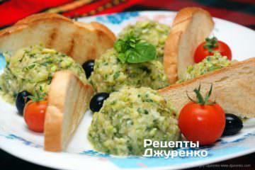 Фото рецепта кабачки счесноком