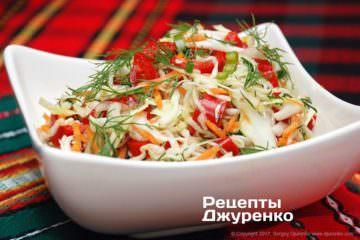 заправити салат