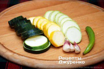 овощи для соуса