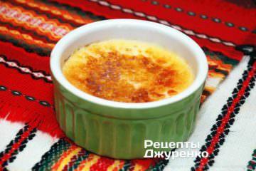 десерт крем-брюле