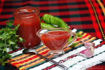 Фото до рецепту: томатний кетчуп