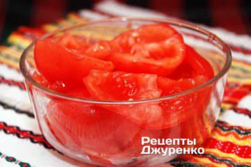 м'якоть томатів